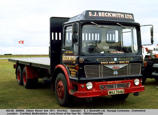 1971 Albion Reiver 6x6