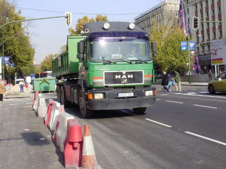 Green MAN in Madrid