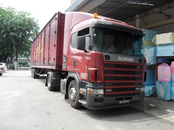 Scania 114 380 Malaysia