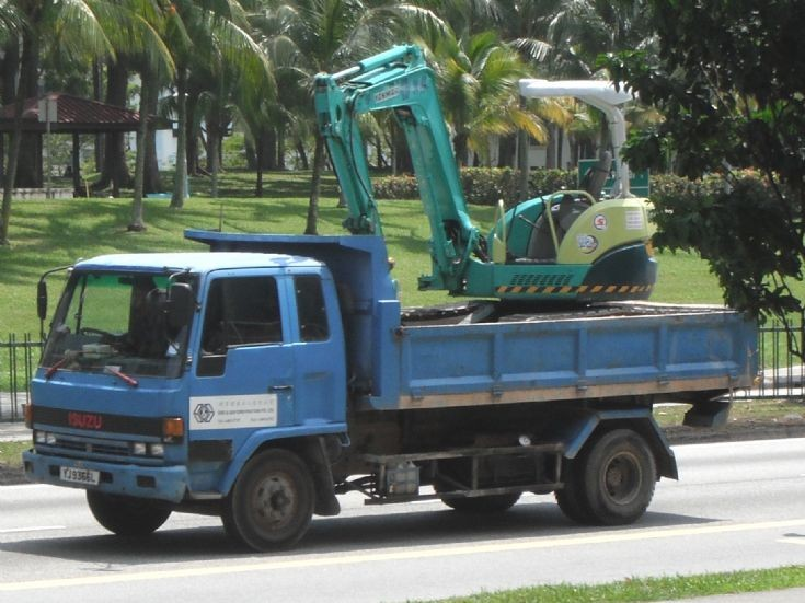 Sing and San Construction Pte Ltd Isuzu Forward FTR Dump Truck