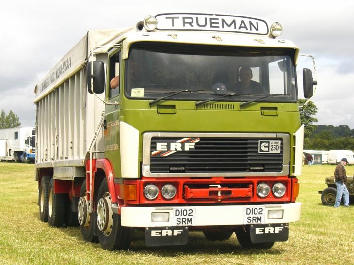 ERF B Series  8-wheel Tipper