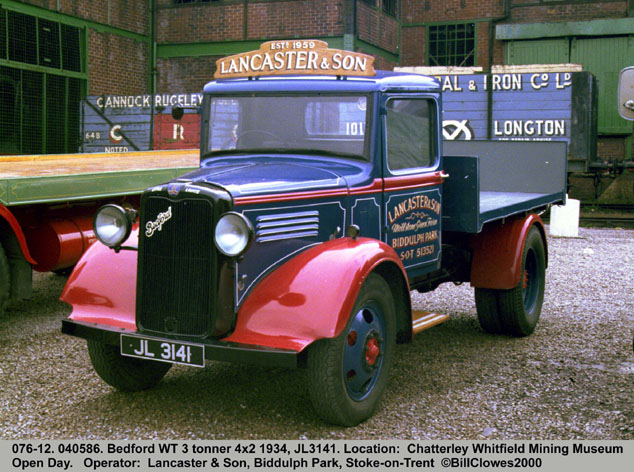 1932 Bedford WT 3 tonner 4x2