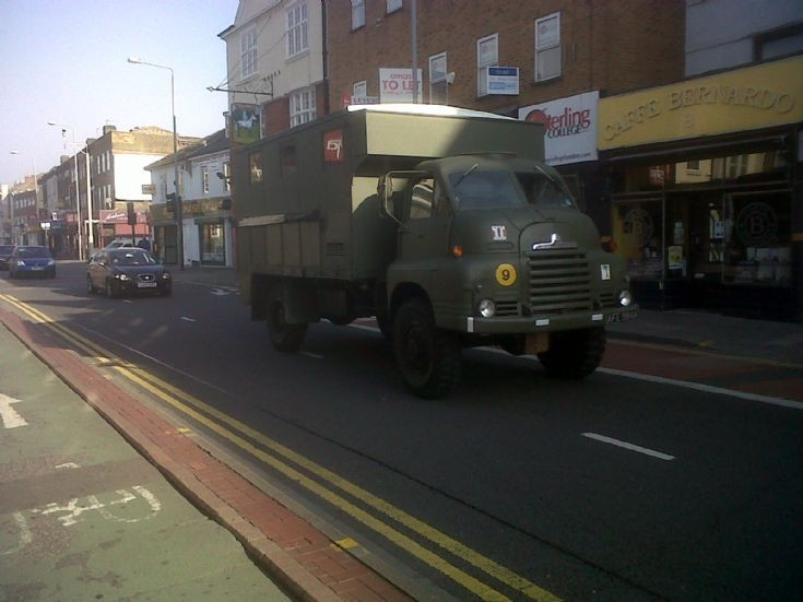 army lorry in Kingston