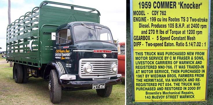 1959 Commer 'Knocker' with history