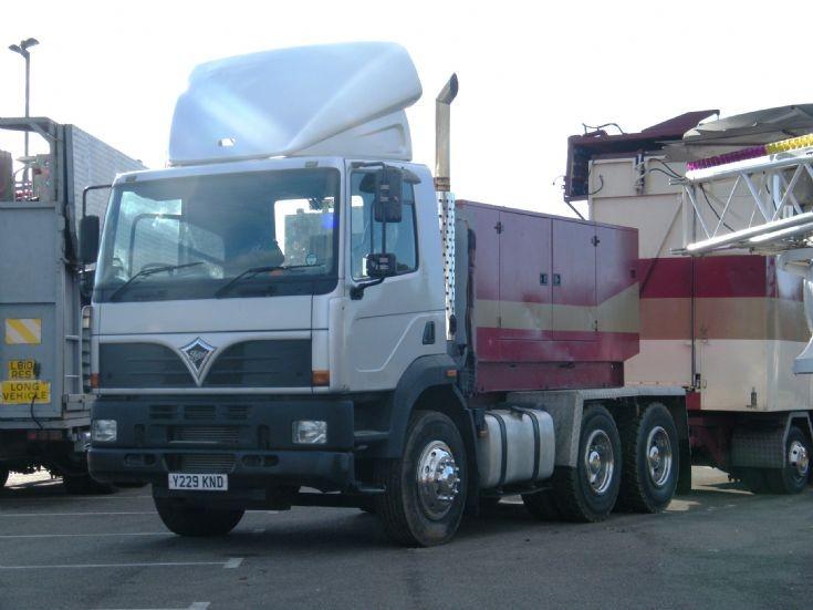 Foden Alpha Showmans truck  25/10/2011