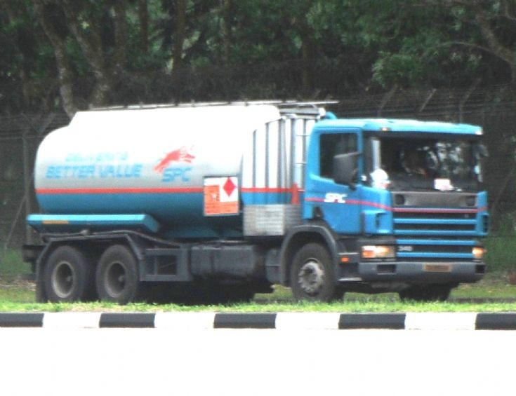 Truck Photos - Singapore Petroleum Company (SPC) Scania 114 340 Fuel