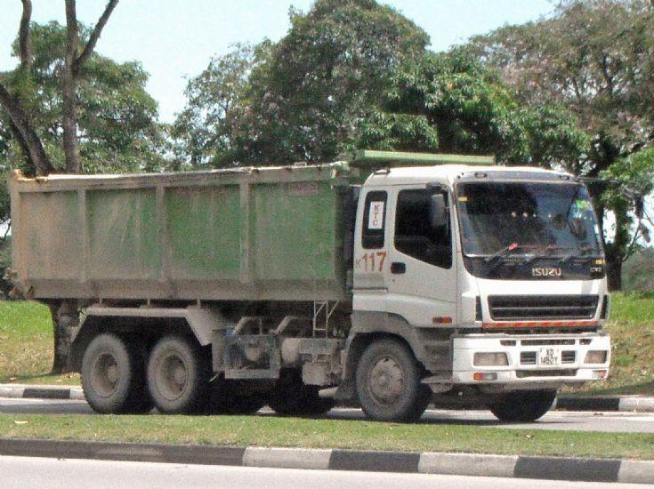 Truck Photos - Kok Tong Construction Pte Ltd (KTC) Isuzu