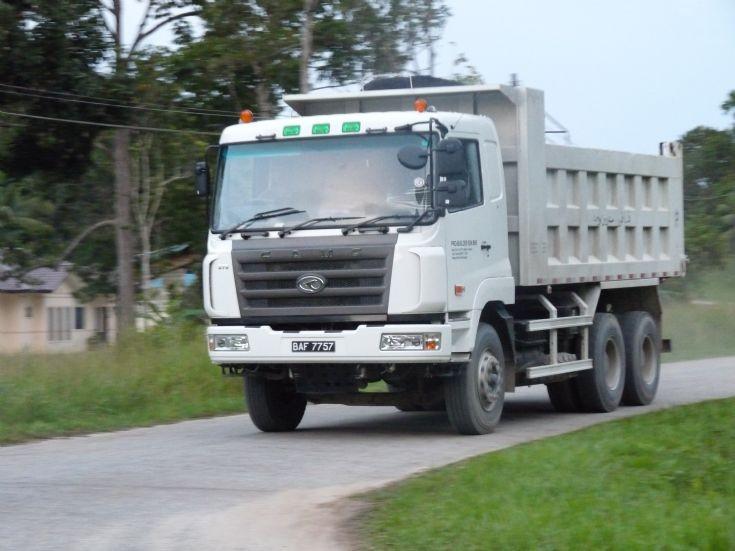 Photo of CAMC bulk dump truck
