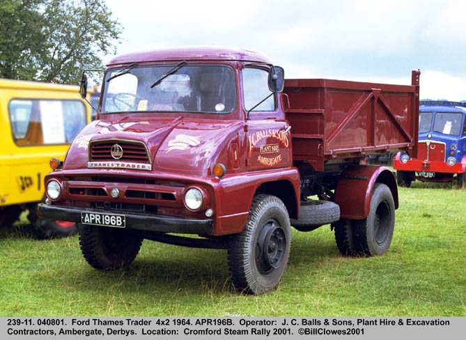 1964 Ford Thames Trader 4x2