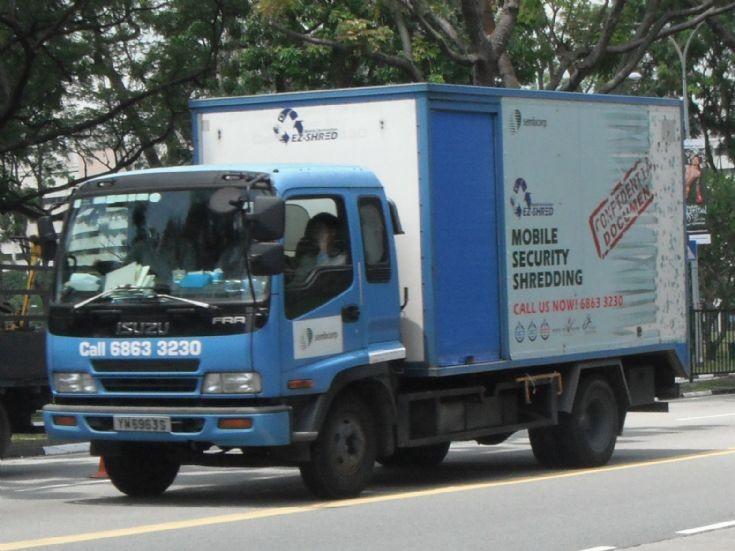 Isuzu Forward FRR Box Truck