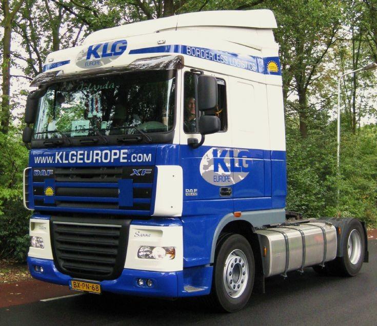 2010 DAF Truck XF KLG Europe