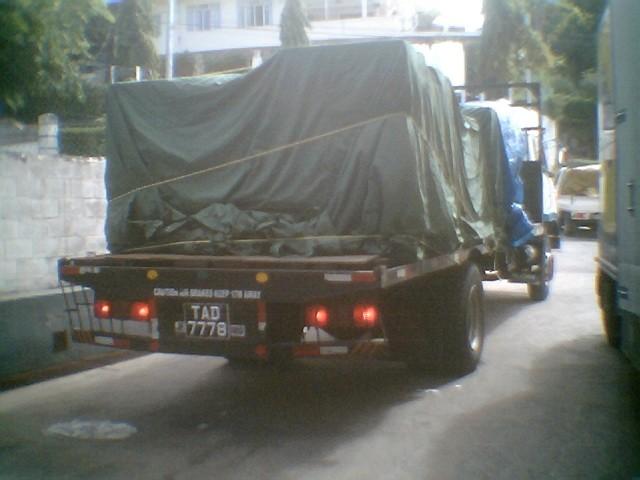 UD Nissan Diesel CK20 TAD 7778