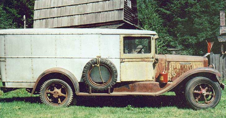 1934 International Harvester 1 1/2 ton B3