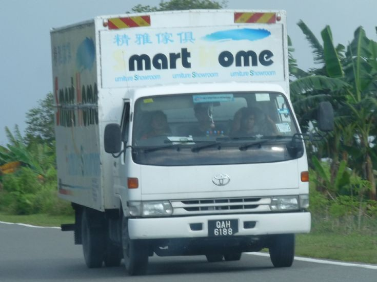 Toyota Dyna delivery truck    Smart Home