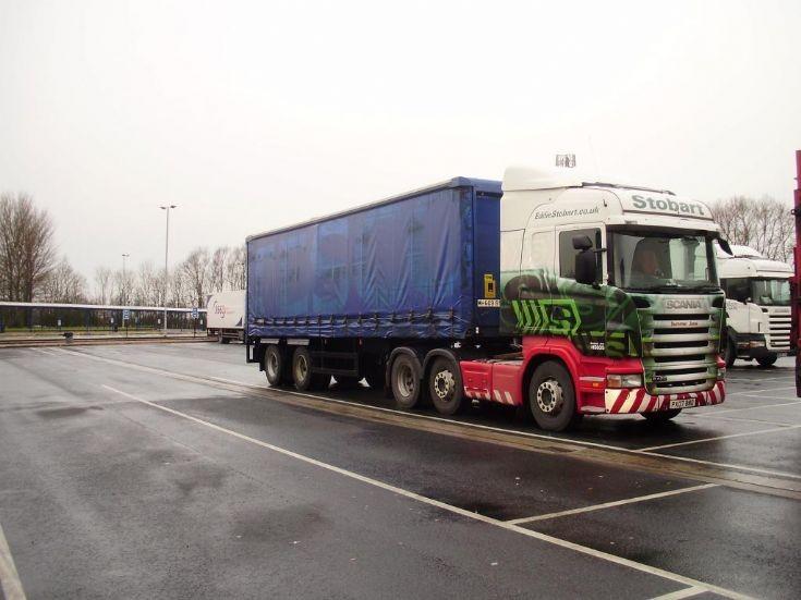 Scania.  Stobart
