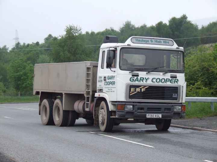 ERF B series 6X4 tipper