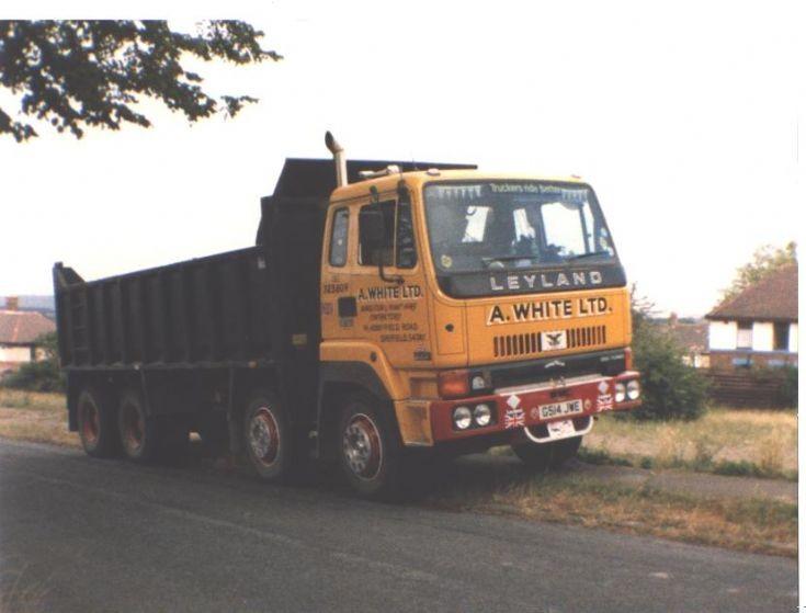 Leyland 8x4 300 lorry of A. White Ltd