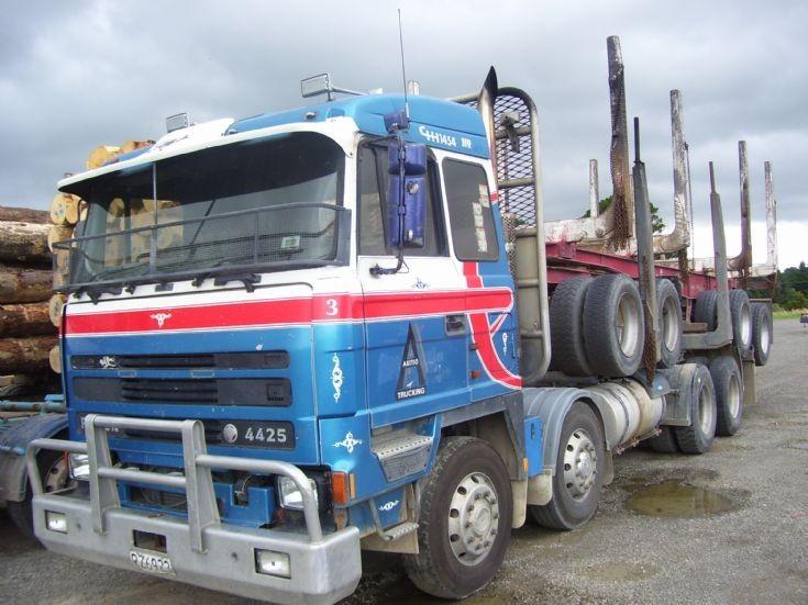 Foden logging truck