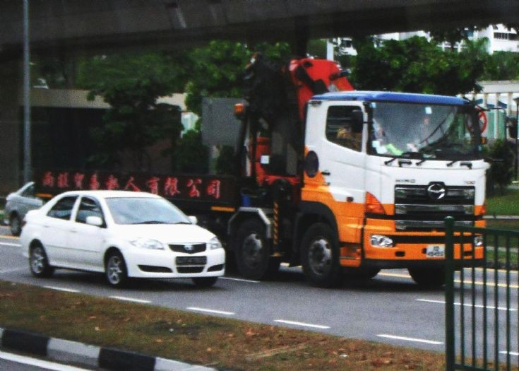 Lian Wang Trading Pte Ltd Hino Profia 700 FY 4-Axle Cargo Truck