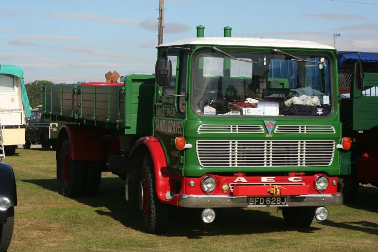 1971 AEC Mercury tipper