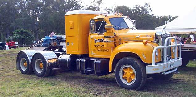 Mack Trucks B61 Models : Truck photos mack b queensland australia
