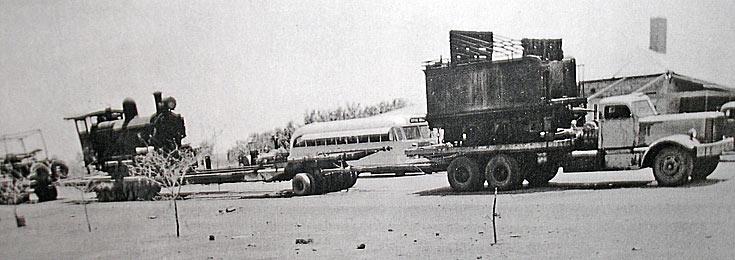 Kurt Johannsen  - Diamond T Road Train