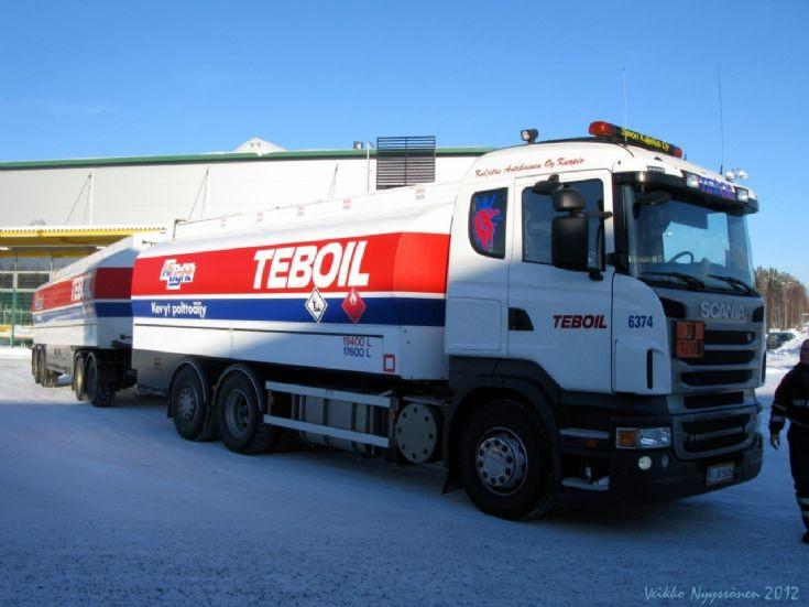 Scania R500 V8 in Finland