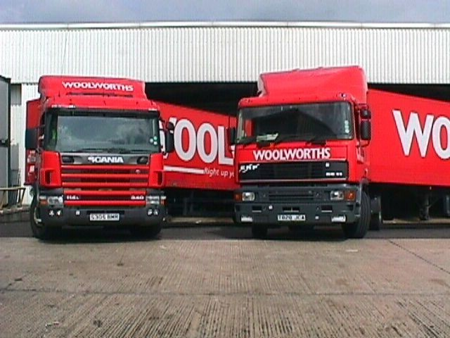 Scania and  Erf