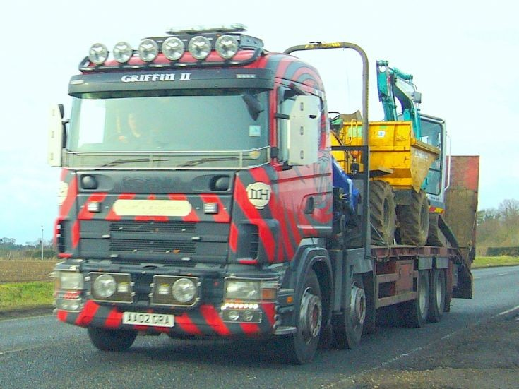 Scania  4 Axle plant carrier