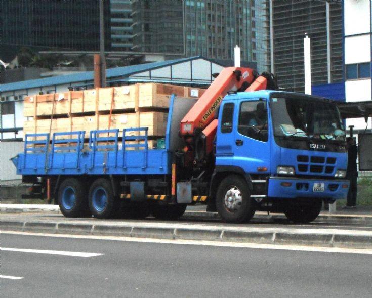 Isuzu Giga CXZ Cargo Truck