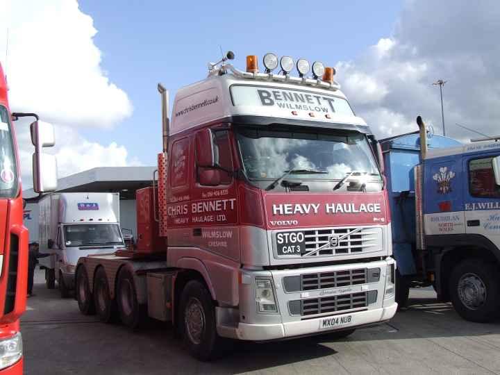 Bennett of Wilmslow Volvo Heavy Haulage