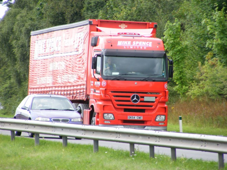 Mike Spence Mercedes Actros