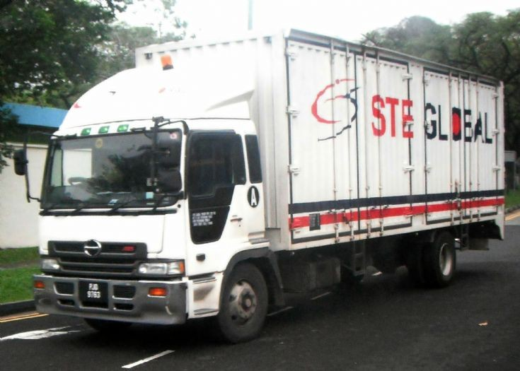 Hino Profia FH Box Truck STE Global
