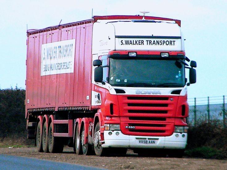 Scania R480 Topline outside Norwich