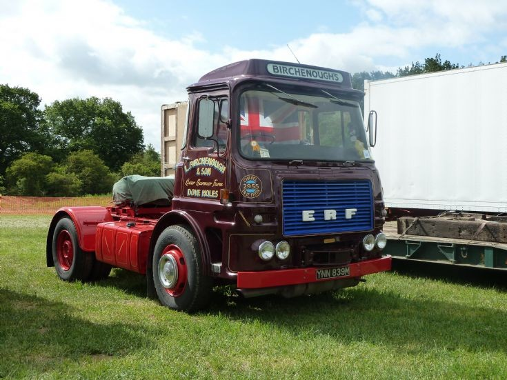 1974 ERF tractor unit