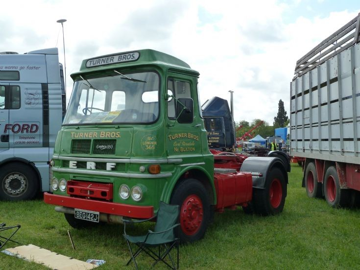 1971 ERF tractor unit