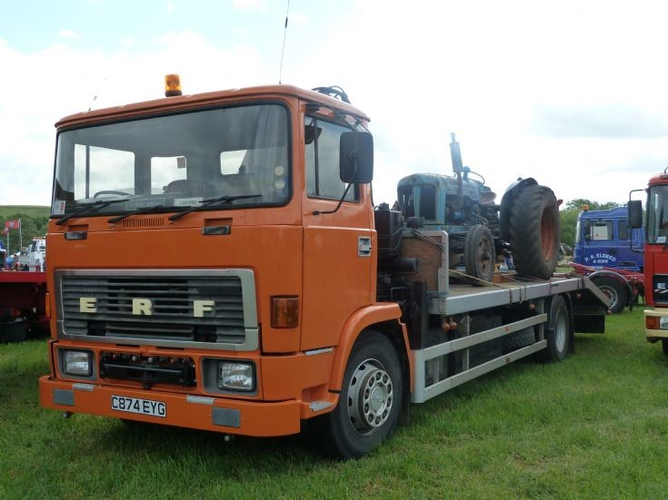 1985 ERF C series beavertail