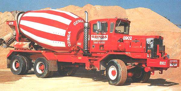 1978 Oshkosh F Series 6X6 Cement Mixer