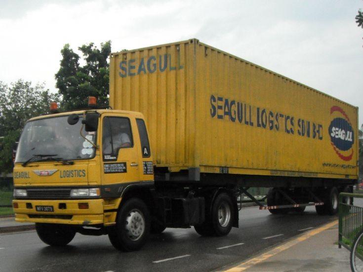 Hino Ranger GH Tractor Seagull Logistics Sdn Bhd