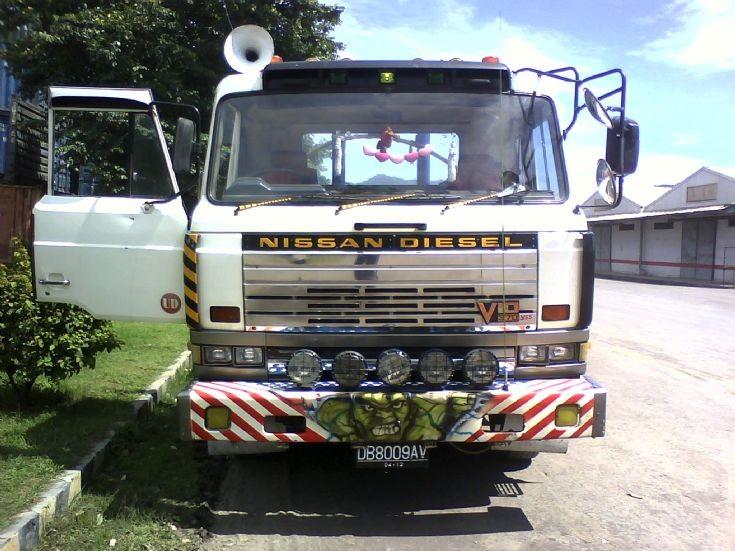 Nissan Diesel Resona P-CK66BT