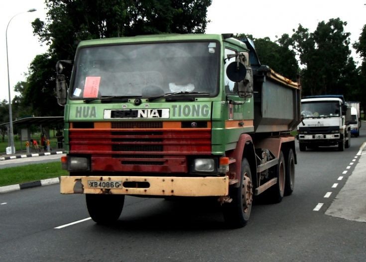 Scania  P113M 310 Dump Truck Hua Tiong Contractor in Singapore