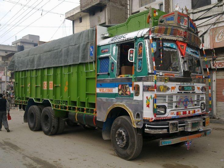 Tata truck in Punjab
