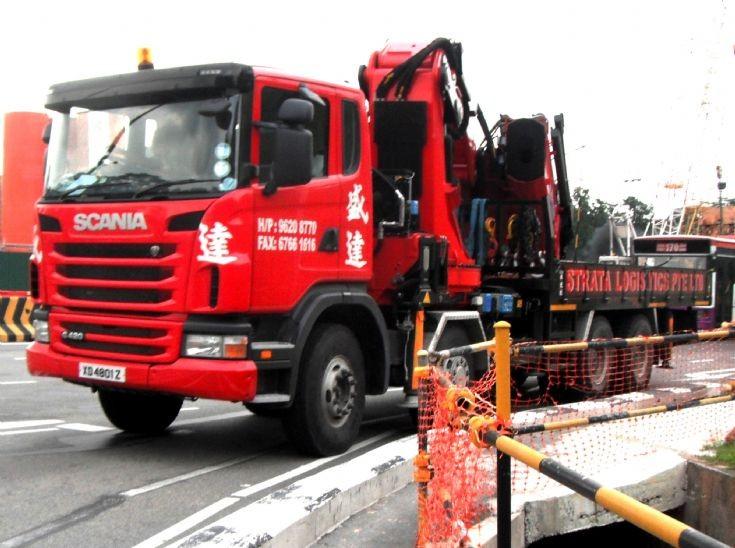 Scania R420 4-Axle Cargo Truck Strata Logistics Pte Ltd