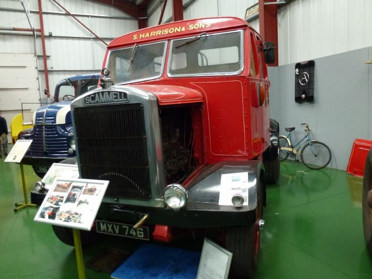 1952 Scammell 15LA MXV 746