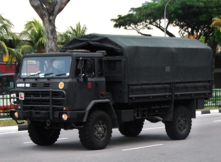 IVECO CM90-17 WM (4x4) Military Truck in Singapore