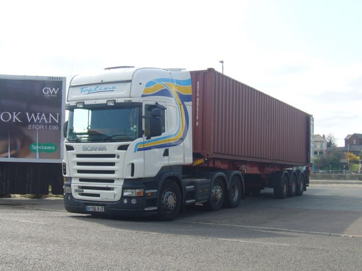 Scania R470 Topline at Great Yarmouth