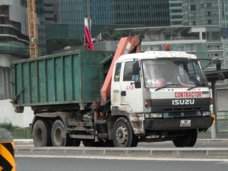 Isuzu Giga CXZ 71JD Series Hook Lift Truck
