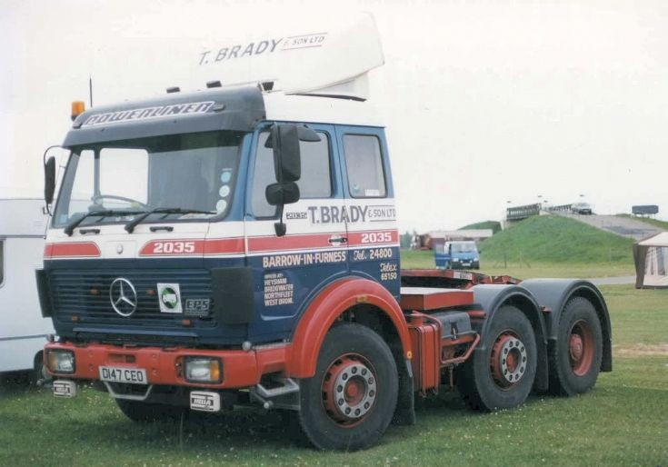 Mercedes 2035 T Brady & Sons