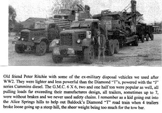 Ex-Military Road Trains