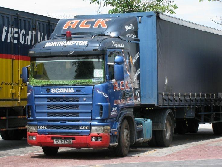 Scania R 124  Ex-Uk in Malaysia